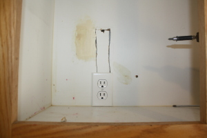 Outlet moved
